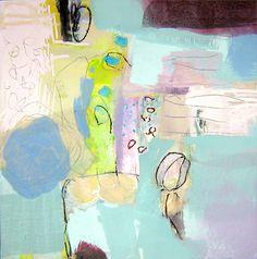 WASHING DAYS, original abstract acrylic painting