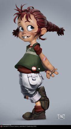Kids Cartoon Characters, Cartoon Faces, Cute Characters, Cartoon Kids, Girl Cartoon, Cartoon Styles, Female Characters, Cartoon Art, Game Character Design