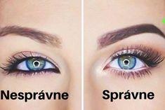 8 skvelých make-up trikov pre najkrajšie ženské oči - chillin. Make Up, Makeup, Beauty Makeup, Bronzer Makeup