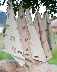 Anouk Tea Towels Lin