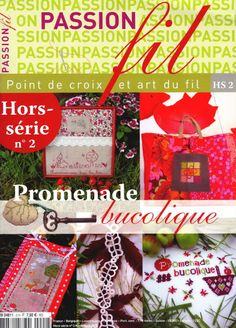 Gallery.ru / Фото #1 - Passion fil HS2 - simplehard Cross Stitch Magazines, Cross Stitch Books, Magazine Cross, Art Du Fil, Applique Fabric, Book Crafts, Craft Books, Le Point, Fabric Crafts