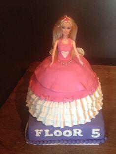 First Barbiecake design is not mine.