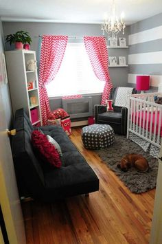 22 Steal-Worthy Decorating Ideas For Small Baby Nurseries
