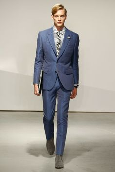 Kent and Curwen Men's RTW Spring 2015 - Slideshow