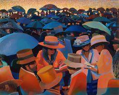 Umbrellas and Hats
