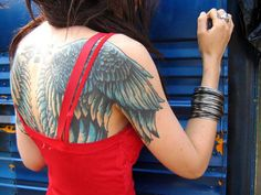 I want this, but I have something on my arm. That's the problem with tattoos you always see something else you like