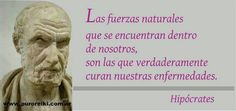 Hipocrates Food For Thought, Spanish, Spirituality, Healing, Positivity, Thoughts, Life, Inspiration, Namaste