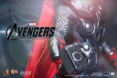 Sneak peek of #Avengers Thor figure