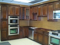 Kitchen Cabinets | Exotic Walnut Kitchen Cabinets – Solid Wood Kitchen Cabinetry