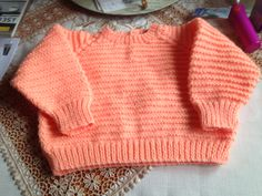 Knitted jersey by mum