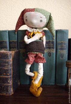 Шут гороховый - шут,шутка,ароматизированная кукла,интерьерная игрушка
