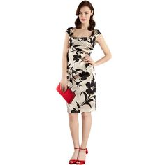 NEONICE Printed Duchess Satin Dress G041E [Dress G041E] - $89.00 : Celebwill official web site - Luxury and french dresses Designer.  http://www.celebwill.com/neonice-printed-duchess-satin-dress-g041e-p-6723.html