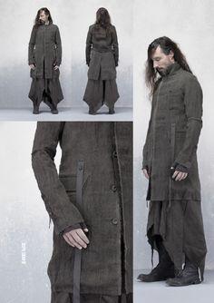 (Misomber Nuan Self VI FW13 [Raise the Light] - stylezeitgeist.com) | Post-apocalyptic Avant-Garde Fashion | #fashion #clothing