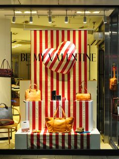 "FEB,2012 MELBA's window display@Tokyo ""BE MY VALENTINE"""
