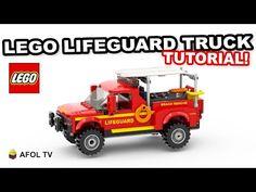 Jet Ski Trailer, Lego Beach, Lego Plane, Lego Fire, Lego Truck, Lego Videos, Lego Sculptures, Lego Army, Lego Projects