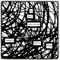 No Direction Home: Make Blackout Poetry, Blackout Poetry, Poetry