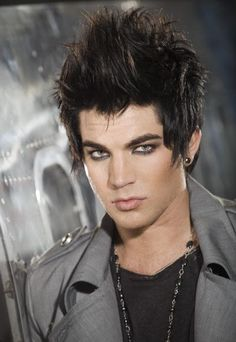What I would give to run my fingers through that hair! OH YEAH. Adam Lambert 2017, Adam's Apple, Adam Style, Normal Guys, Crazy Outfits, Together Forever, American Idol, Man Alive, Famous Faces