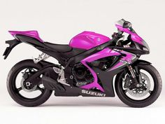 Ugh. Now I want a black and pink bike :-( Is this a GSXR? Now I want it more!!