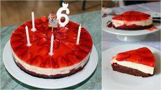 Marci 6. szülinapjára eddig 4 tortát készítettem (az oviba, itthonra, és két családi ünneplése), és a zsúrja még hátra van. :) Mindig konkrét elképzelései vannak, hogy milyen tortát szeretne, és sosem ugyanazt kéri. Én meg igyekszem teljesíteni a kívánságát. Idén azt mondta, hogy sok eper, és kevés… Minion, Cheesecake, Keto, Food, Cheesecakes, Essen, Minions, Meals, Yemek