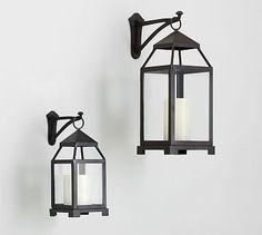 Wall-Mounted Lantern Hook #potterybarn