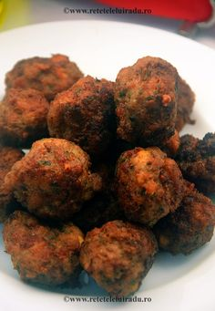 Keftedakia - Small beef meatballs, with mint and parsley