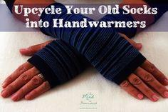Recycle clean old socks