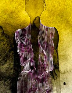 Watercolor fashion illustrations by Kareem Iliya