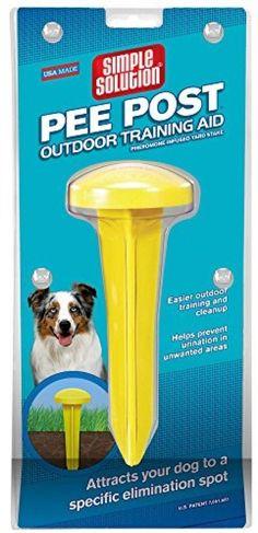 Dog Pee Post Male Pretending Training AID Garden Lawn Urine Pet Puppy Poop Clean