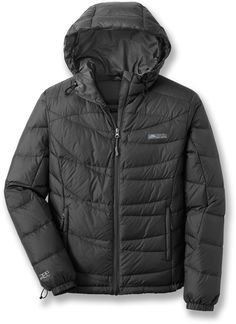 Cordillera Sierra Crest down jacket $140.   This jacket feels like wearing a hug.