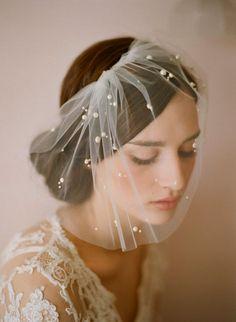 Vintage Bride  see more inspiration @ http://www.ModernRani.com