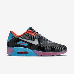 mens nike air max 90 knit jacquard ice running shoes nz