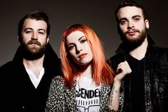 Paramore for Rock Sound Magazine Photoshoot with Nigel Crane