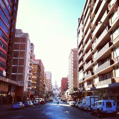 Hillbrow Johannesburg City, My Family History, Exotic Places, Historical Pictures, Live, Continents, San Francisco Skyline, South Africa, Landscape Photography