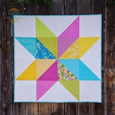 from the blue chair: Vintage Star Quilt