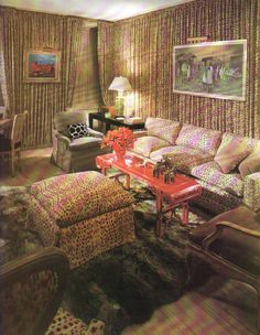 Angelo Donghia 1968 from article in Architectural Digest April 1986