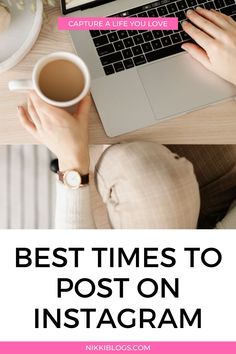 Find the best times to post on Instagram with this guide to using analytics and live data. Click here to see how to use the information you already have about your followers to see when you should post! Selling On Instagram, Find Instagram, Instagram Tips, Facebook Marketing, Online Marketing, Social Media Marketing, Creative Business, Business Tips, Picture Ideas