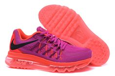 brand new 632a7 c821e Cheapest and Newest WMNS Nike Air Max 2015 Raspberry Fireberry Black Hot  Pink