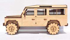 Land Rover 110 Model Landrover defender 110 Model by Best Kids Toys, Toys For Boys, Land Rover Defender, Defender 110, Laser Cut Wood, Laser Cutting, Landrover Camper, Laser Cutter Ideas, Farm Toys