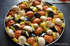 reteta chiftelute la cuptor cu legume (1)