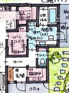 けいかく中 – Andy hat – - 名古屋市の住宅設計事務所 フィールド平野一級建築士事務所
