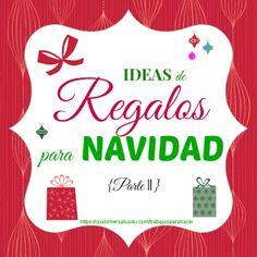 Que linda es la Navidad!!! Make Your Mark, Ideas Para, Diy Christmas, Latina, How To Make, Holidays, Tips, Christmas Presents, Activities