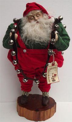 Handmade Santa Claus By Kim Sweet~Kim's Klaus~Jingle Bells