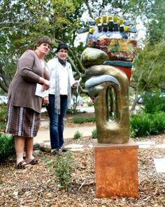 Art Eco in the Garden SLO Botanicl Garden