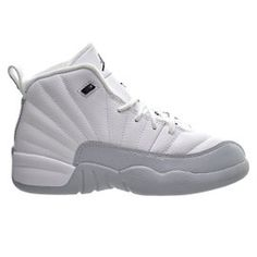 87786636f8a013 Air Jordan 12 Retro GP Little Kid s Shoes White Black Wolf Grey The Air  Jordan 12 Retro Little Kids  Shoe is equipped with full-length Nike Air  cushioning ...