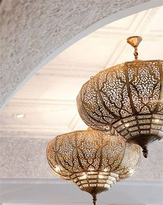 Light Fixtures with Crystals – Decor Lighting Moroccan Design, Moroccan Decor, Moroccan Style, Moroccan Lighting, Moroccan Bedroom, Light In, Lamp Light, Chandeliers, Chandelier Lighting