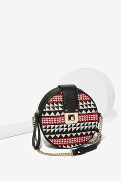 Aztec in Check Crossbody Bag - Accessories | Bags + Backpacks