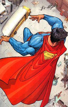 Superman by Adam Kubert