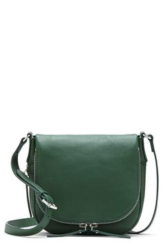 Free shipping and returns on Vince Camuto 'Baily' Crossbody Bag at Nordstrom.com. An exposed zipper traces the smart curves of a svelte crossbody in lavishly textured lambskin leather.
