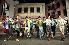 EXO - Kolon Sports pictures from High Cut Vol. Exo Xiumin, Kpop Exo, Exo Chanbaek, Exo 12, Exo Group, Exo Album, Xiu Min, Kawaii, Kris Wu