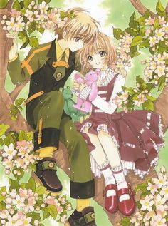 Sakura & Shaoran   Sakura Card captor   #Anime